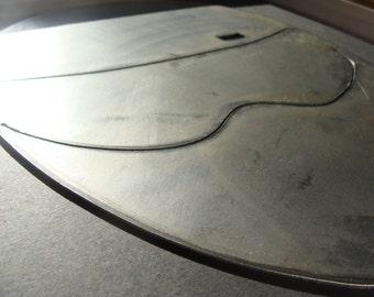 Top Gear's The Stig Helmet Inspired Metal Sign