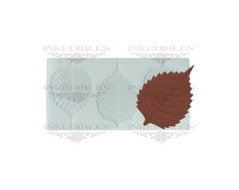 Non-Stick Transparent Chocolate Mold (Leaf for QM-029)
