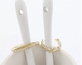 D-vine 14K Gold Ring