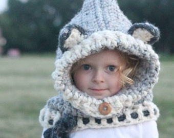 Popular items for wolf cowl on Etsy