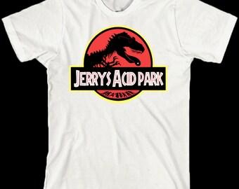 Grateful Dead Shirt ... Jerry's Acid Park ... Lot Tee ... Jerry Garcia