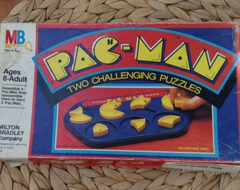 Vintage Pac-Man Puzzle Game