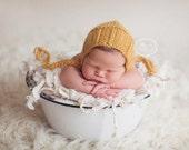 Bailey Knit Bonnet- Newborn Photography Prop