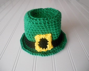 Adorable Saint Patrick's Day Baby Hat - 3-6 months