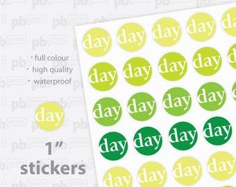 "1"" Custom Printed Stickers"