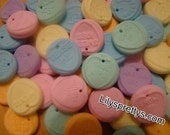 Handmade Polymer Fimo Clay Loveheart Love Hearts Candy Sweetie Sweet Beads