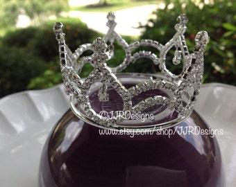 Newborn Tiara- Tiara- Full Crown-  Tiara Headband- Full Crown- Newborn Full Crown- Toddler- Child