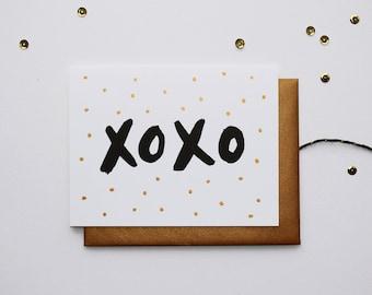 Love Card - XOXO
