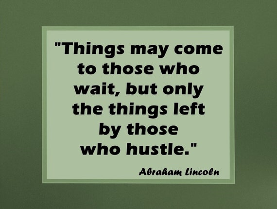 Items Similar To Quote Poster Leadership Abraham Lincoln