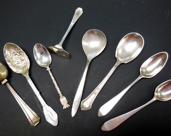 ON SALE:  Vintage Spoons Eight for One Price