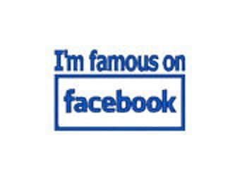 I am Famous in Facebook, Baby Romper, Embroidery, A Prissy Stitch