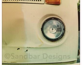 4 x 4 photo card-Tres leches VW bus