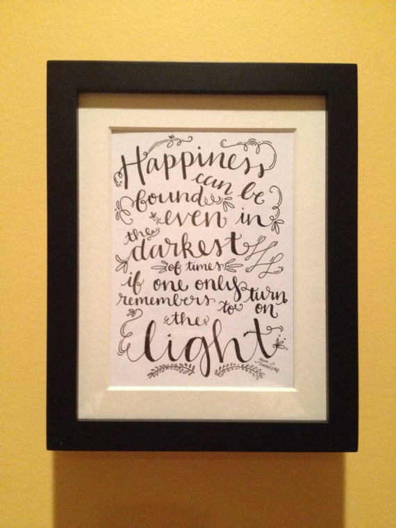 Harry Potter Quote from Dumbledore