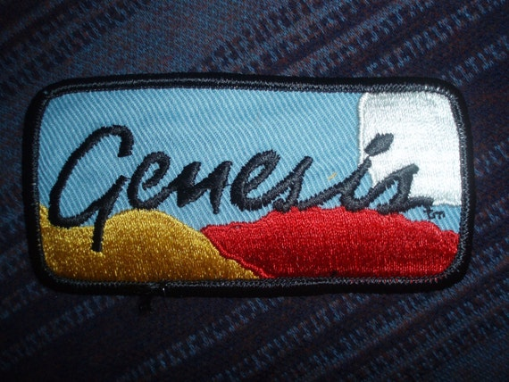 Genesis Patch Phil Collins Peter Gabriel Collectible