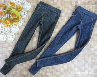 Kawkana - Great Leggings like Realistic Jeans, Pants for Msd, MNF, JID, Leeke Art, other 1/4 bjd