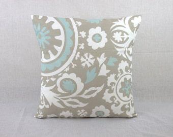 Large Decorative Pillows - Euro Pillow - 24x24 Pillow Cover