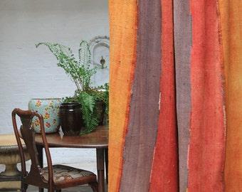 Vintage Perde Kilim, rug / curtain / bed throw - 230x160 cm / 90x62 inches