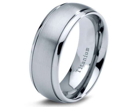 wedding band men titanium rings mens wedding band titanium wedding