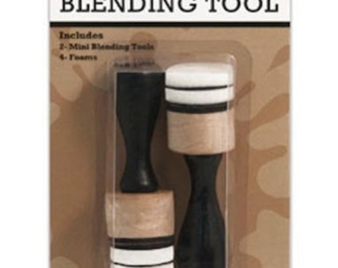 "Ranger Tim Holtz Mini Ink Blending Tool 1"" Round"