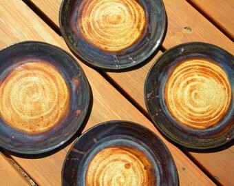Dinner Plates - Nutmeg and Mahogany