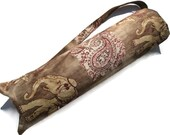 Pilates bag, yoga mat bag for men and women,yoga tote, elephant print, camel, paisley, burgundy, kaki and beige, sport bag