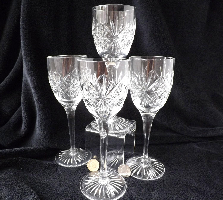 Annata bicchieri cristallo vino calice di cristallo for Bicchieri cristallo