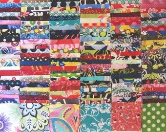 "200 Assorted pre cut squares charm pack 2.5"" squares 100% cotton fabric quilt"