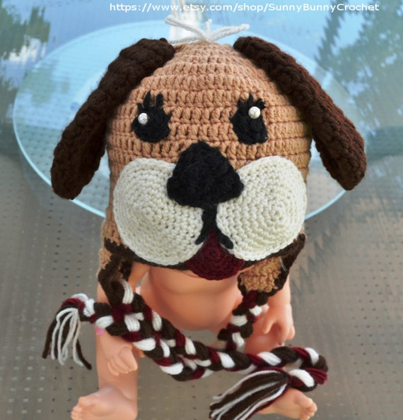 CROCHET HAT PATTERN, Baby Crochet Pattern, Animal Hat ...