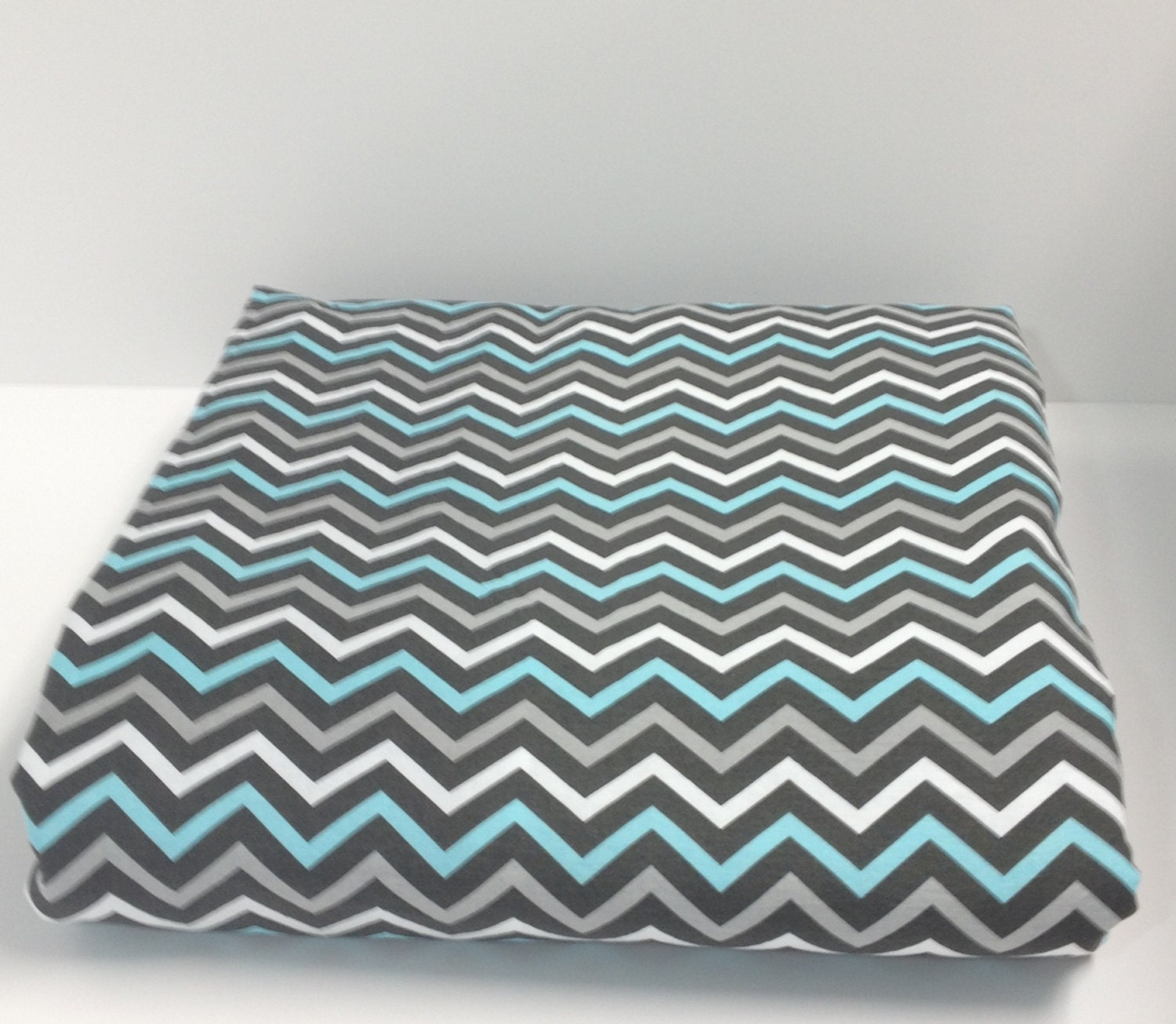 Grey Chevron Duvet Cover For Twin Twin Xl Or By Deeanasdesigns