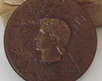 Winter Olympics Grenoble Switzerland Competitors Medal 1968