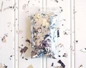 Silver Confetti Shredded