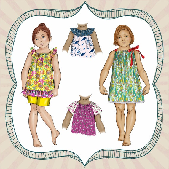 Pattern For Pillowcase Dress With Sleeves