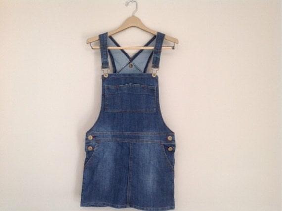 vintage bib overalls skirt denim bib skirtalls bib skirt