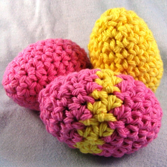 Amigurumi Easter Eggs Crochet Pattern : Amigurumi Crochet Pattern Quick and Easy Cute Easter Eggs