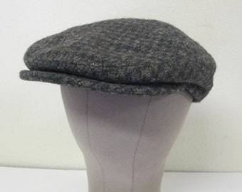 LL Bean Cap Harris Tweed Cap Newsboy Cap 1970 Cap Small Golf Cap