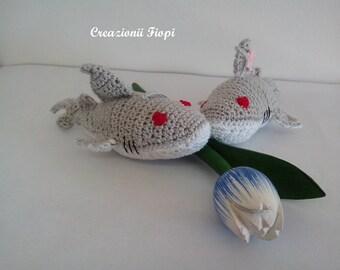 Hammerhead Shark Amigurumi : Popular items for shark pattern on Etsy