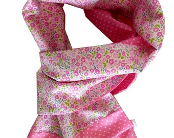 Liberty scarf pink faiford