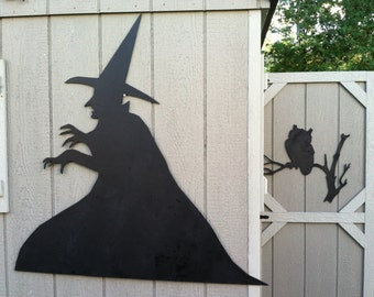 Halloween Silhouettes - Wicked witch