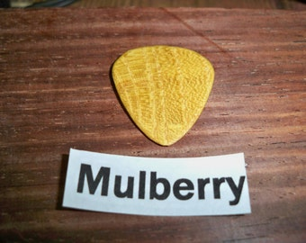Mulberry Wood Guitar Pick