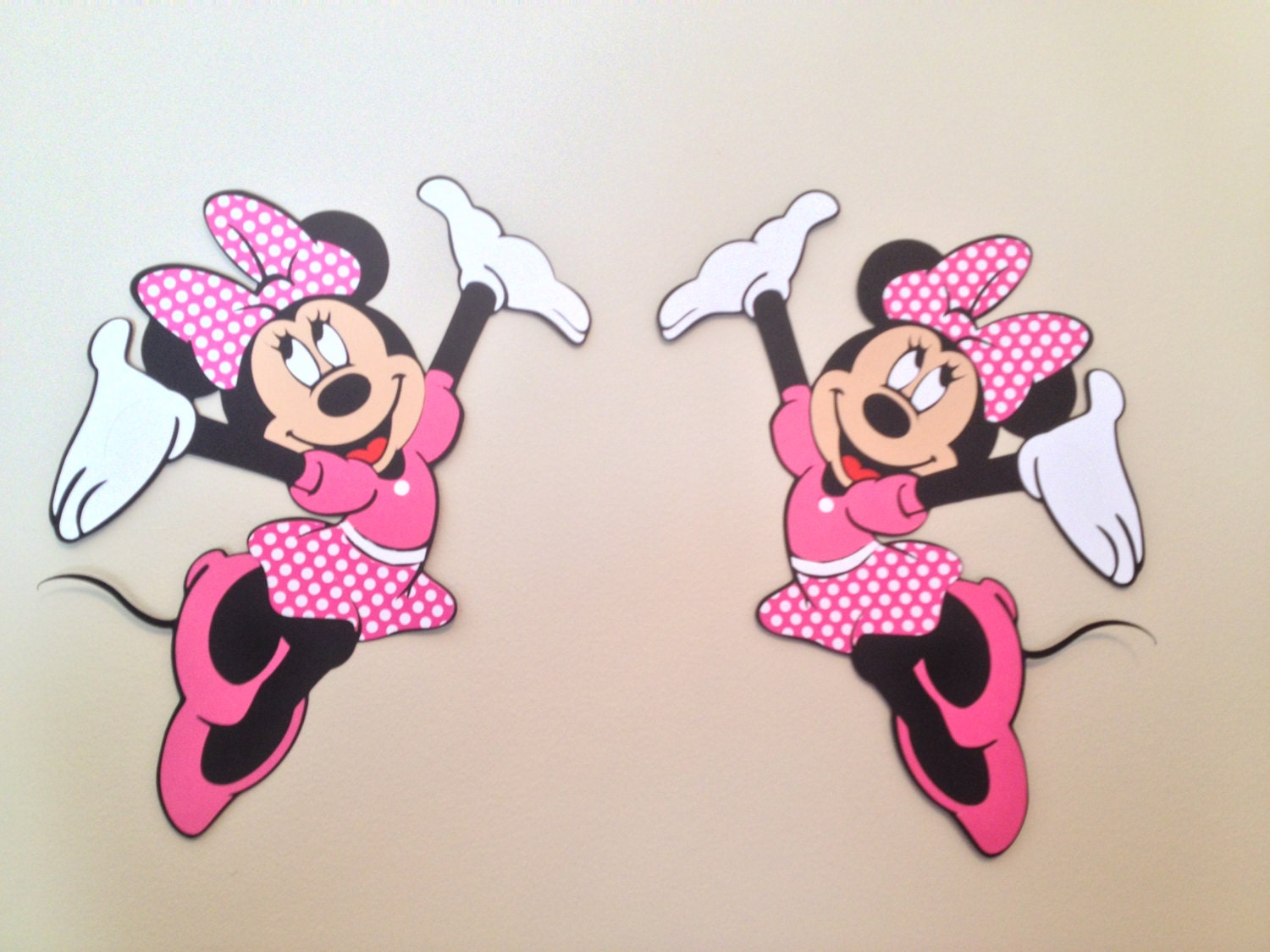 Minnie mouse wall die cuts minnie mouse birthday zoom amipublicfo Choice Image