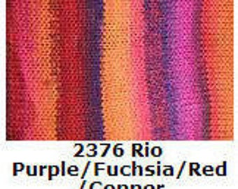 Trendsetter Tonalita Yarn  Color 2376 Rio  Special Pricing!!  Regular price is 10.00