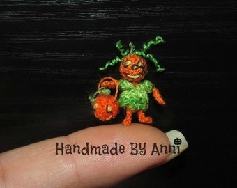 Miniature Halloween dollhouse halloween miniature miniature halloween amigurumi crochet halloween miniature