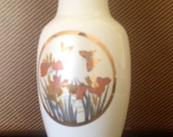 Vintage Butterfly vase made in Japan.  Perfect condition.