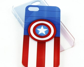 Captain America case for iPhone 5/5s/5se - avenger in Stars and Stripes