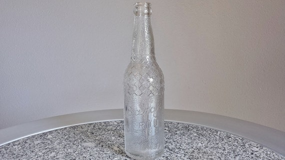 Vintage 1938 Barq S Root Beer 12 Ounce Glass Bottle