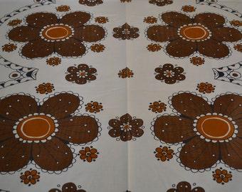 Scandinavian retro curtains fabric designer Sweden 70s