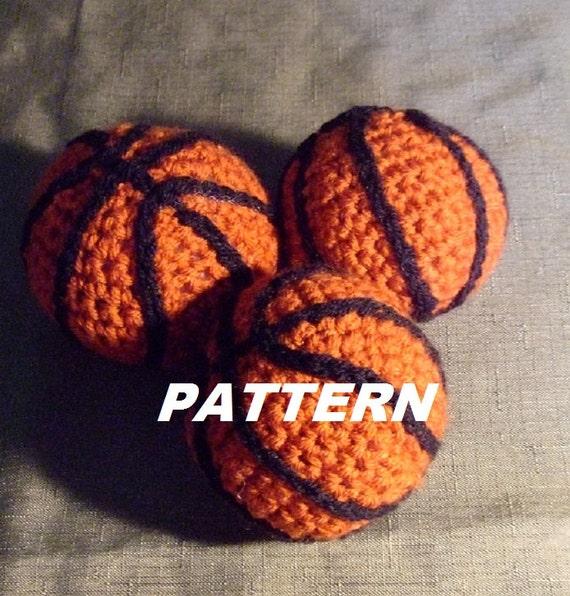 PATTERN Mini Basketball Crocheted by BucketFullofMemories ...