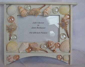 OAK Upcycled Photo Frame with Shells