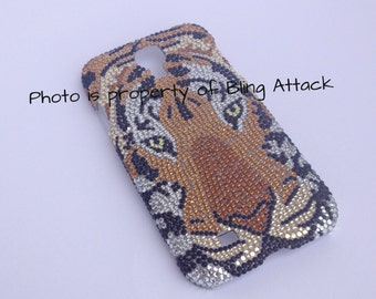 Samsung Galaxy s4 bling case Tiger case