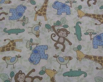 Monkey Cotton Piece